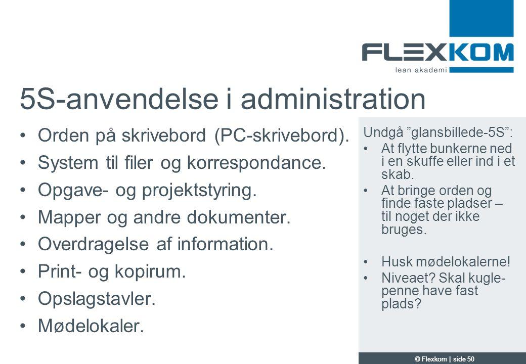 5S-anvendelse i administration