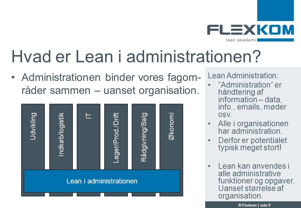 Hvad er Lean i administrationen