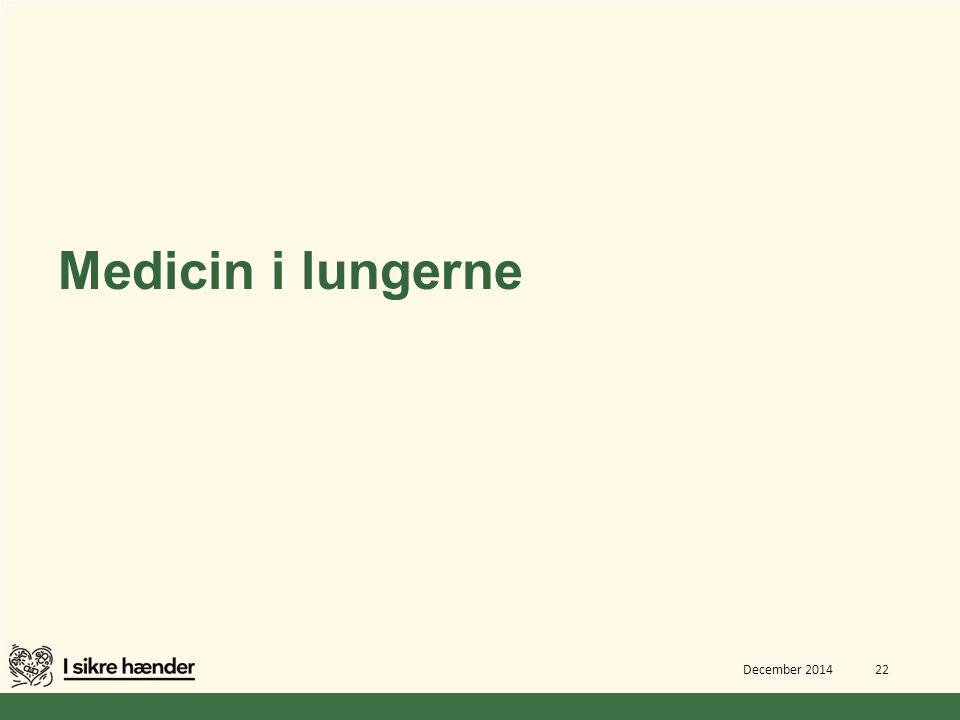 Medicin i lungerne December 2014 22