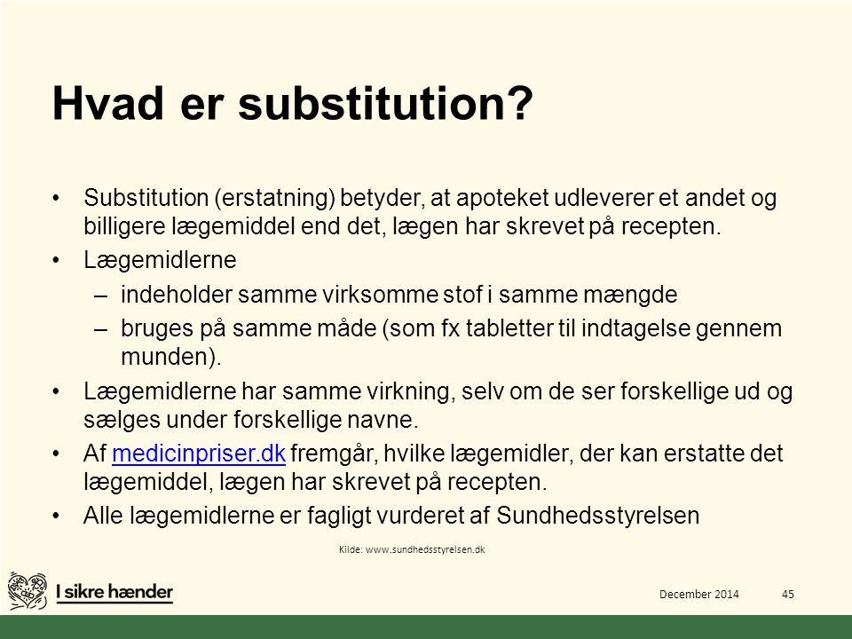 Hvad er substitution