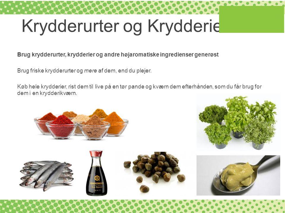 Krydderurter og Krydderier