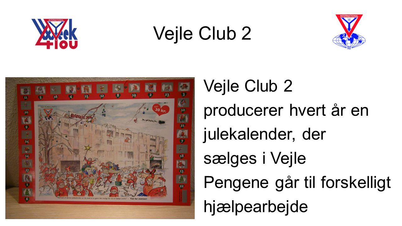 Vejle Club 2 Vejle Club 2 producerer hvert år en julekalender, der
