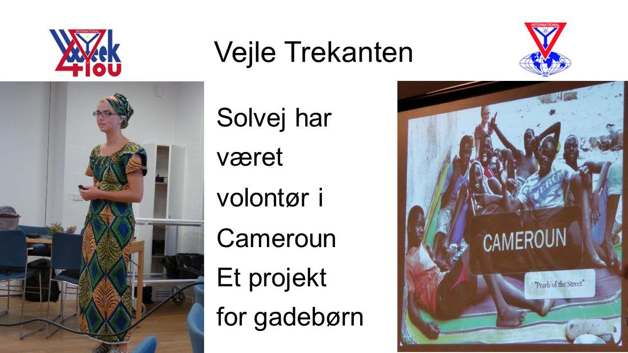 Vejle Trekanten Solvej har været volontør i Cameroun Et projekt