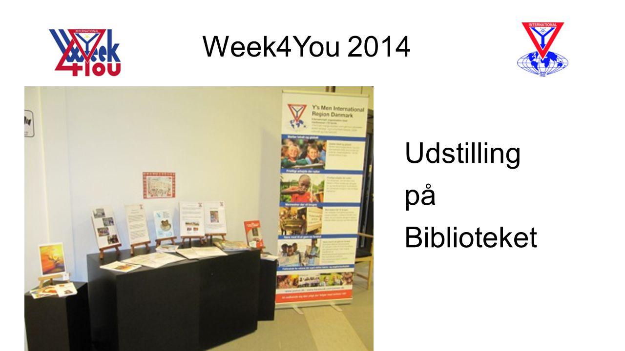 Week4You 2014 Udstilling på Biblioteket