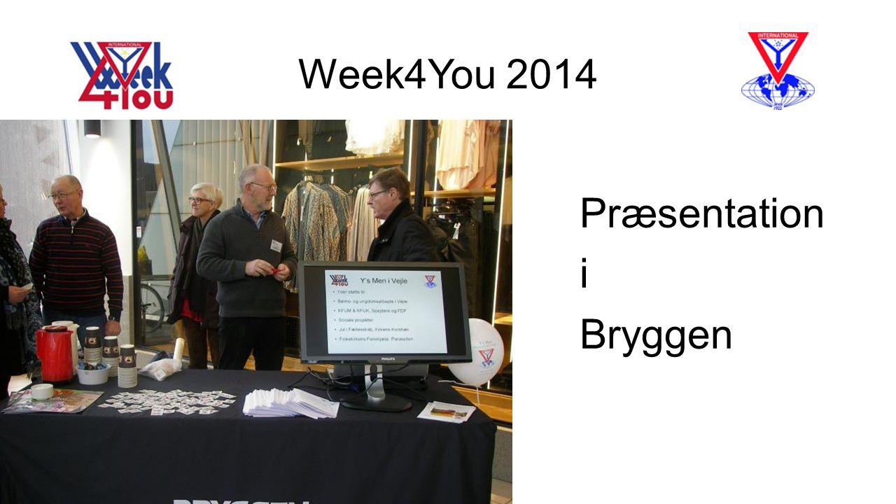 Week4You 2014 Præsentation i Bryggen