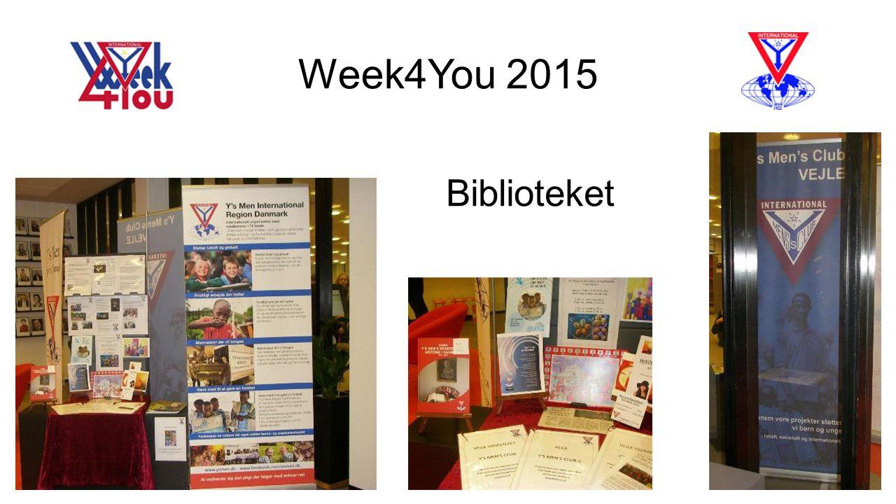 Week4You 2015 Biblioteket