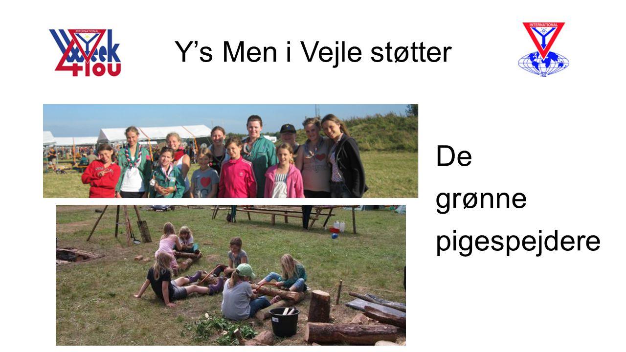 Y's Men i Vejle støtter De grønne pigespejdere