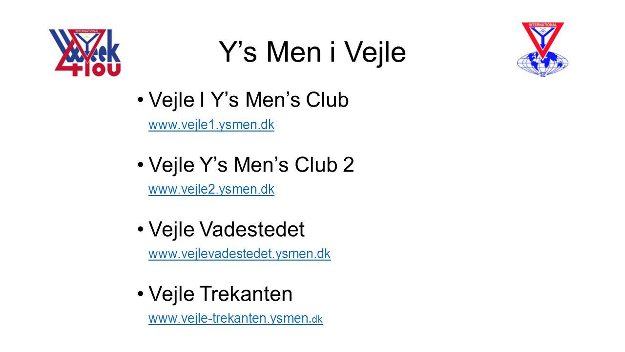 Y's Men i Vejle Vejle I Y's Men's Club Vejle Y's Men's Club 2