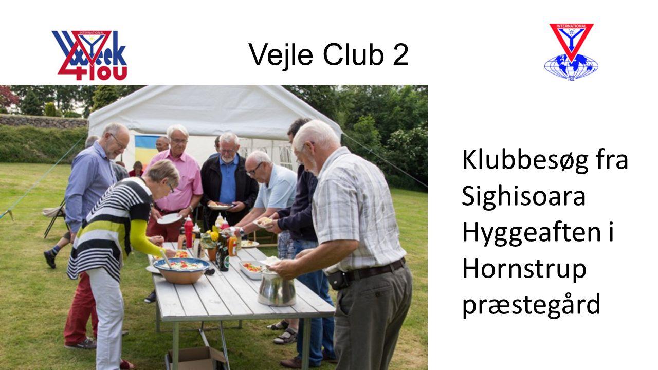 Vejle Club 2 Klubbesøg fra Sighisoara Hyggeaften i Hornstrup præstegård