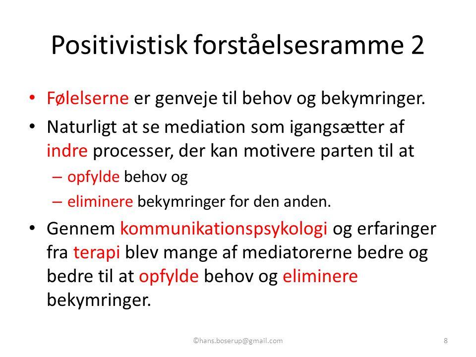 Positivistisk forståelsesramme 2