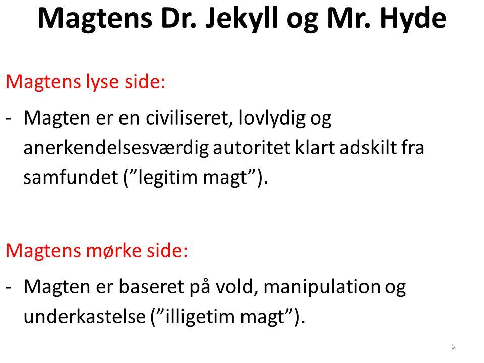Magtens Dr. Jekyll og Mr. Hyde