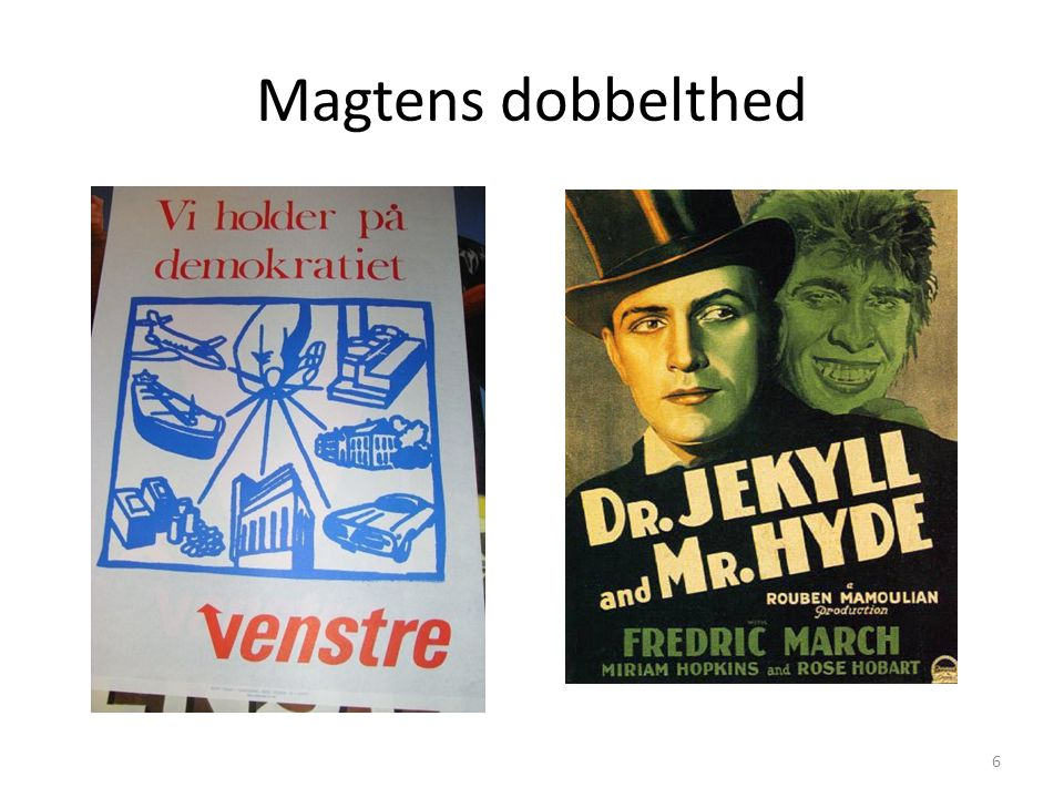 Magtens dobbelthed