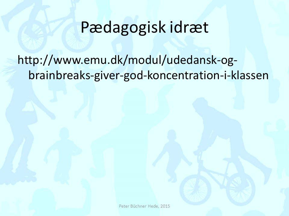 Pædagogisk idræt http://www.emu.dk/modul/udedansk-og-brainbreaks-giver-god-koncentration-i-klassen.