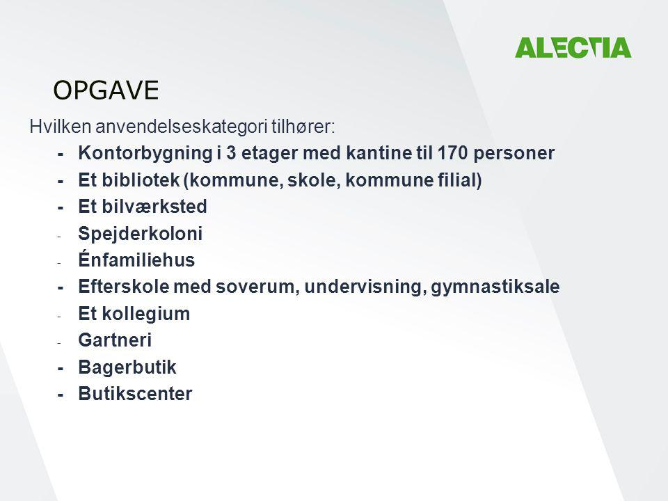 OPGAVE - Kontorbygning i 3 etager med kantine til 170 personer
