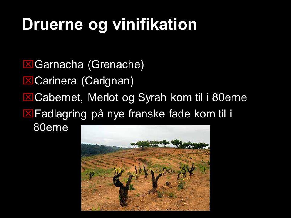 Druerne og vinifikation