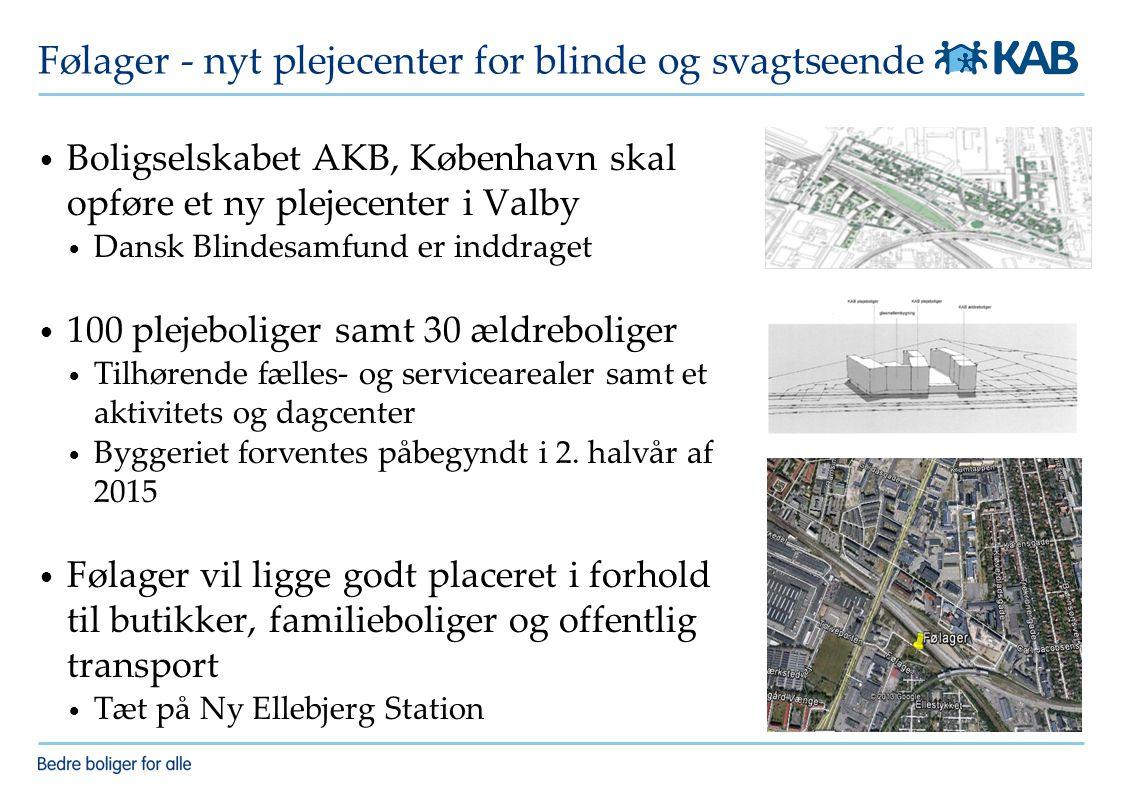 Følager - nyt plejecenter for blinde og svagtseende