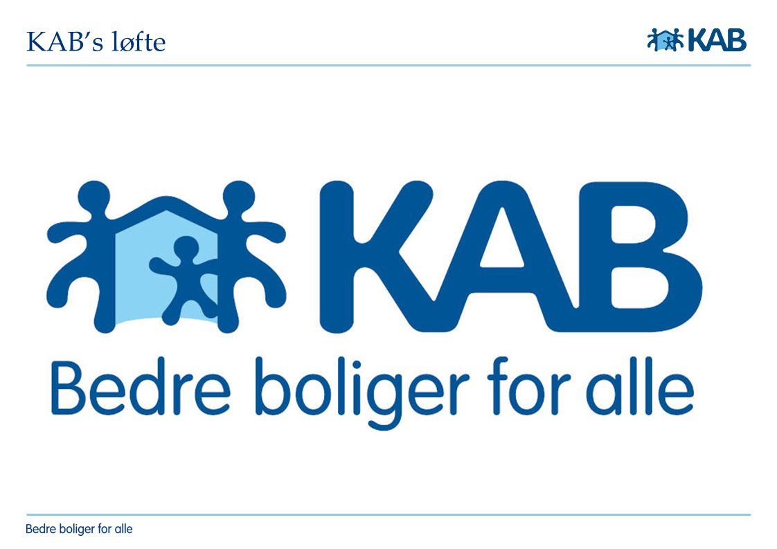 KAB's løfte