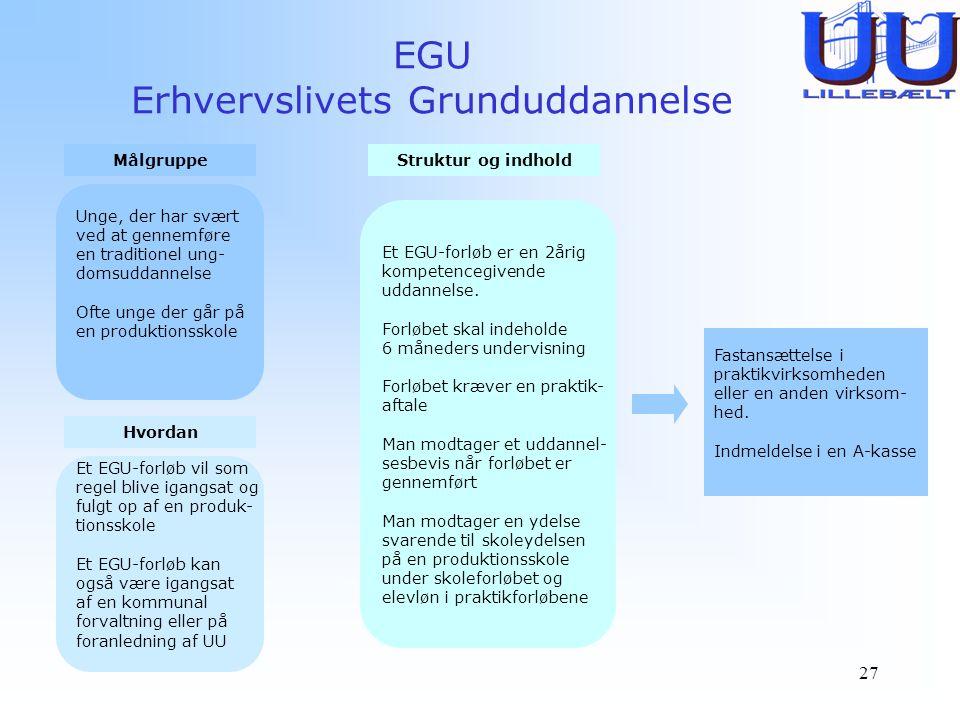 EGU Erhvervslivets Grunduddannelse