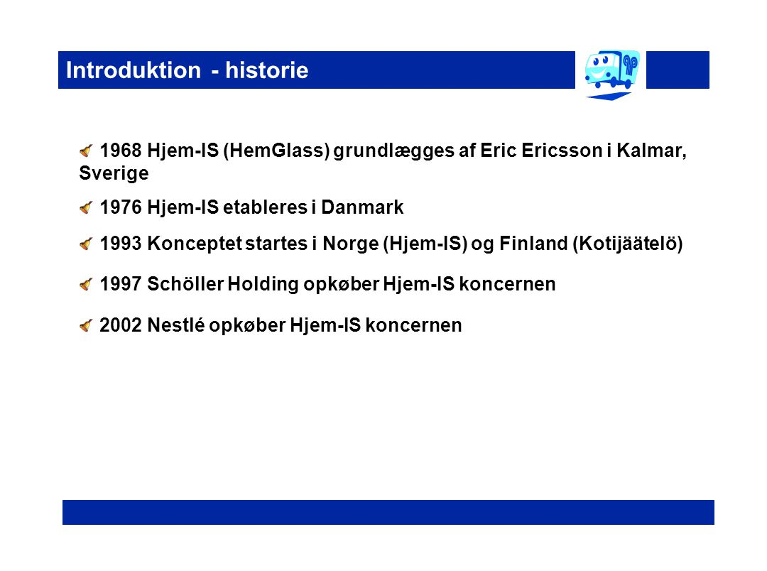 Introduktion - historie