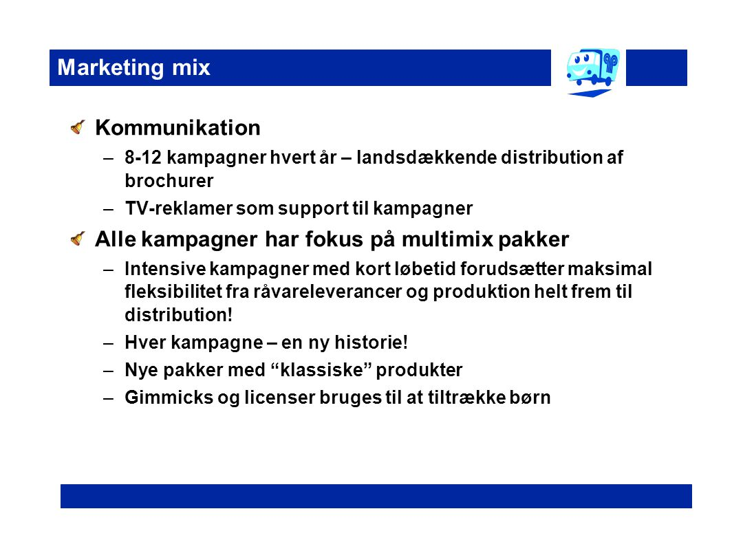 Marketing mix Kommunikation