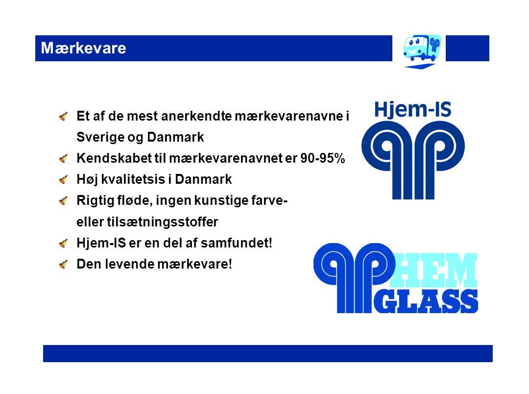 Mærkevare Et af de mest anerkendte mærkevarenavne i Sverige og Danmark