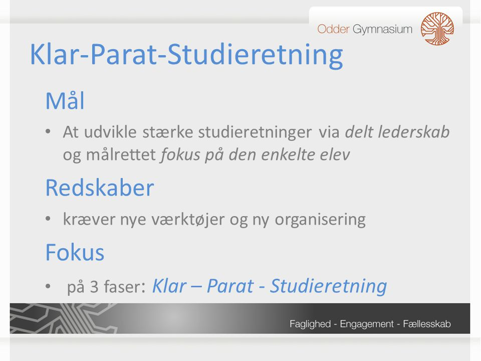 Klar-Parat-Studieretning