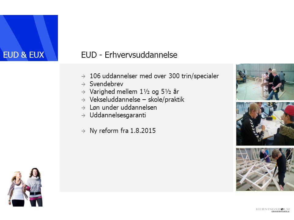 EUD - Erhvervsuddannelse