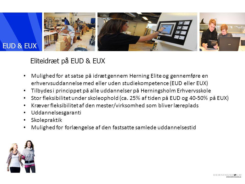 EUD & EUX IKAST Eliteidræt på EUD & EUX