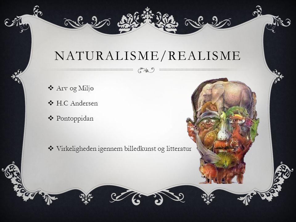Naturalisme/Realisme