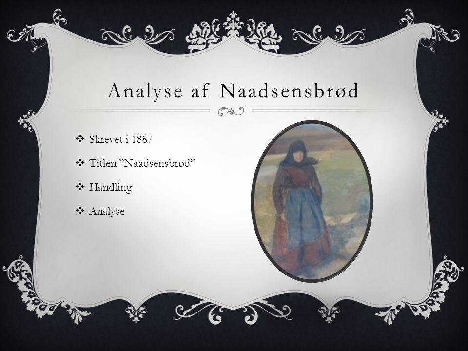 Analyse af Naadsensbrød