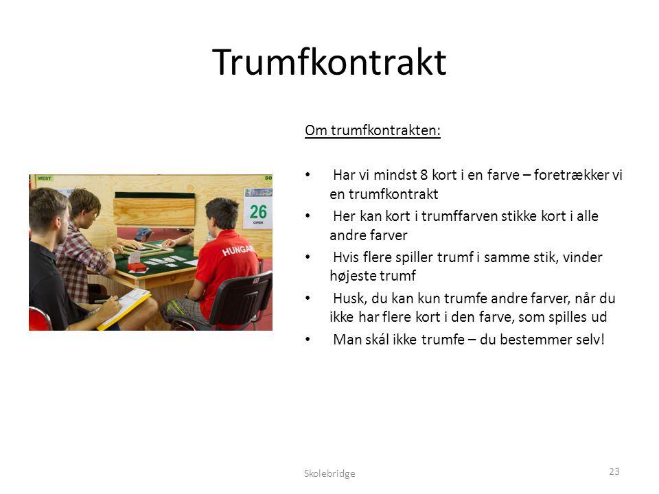 Trumfkontrakt Om trumfkontrakten:
