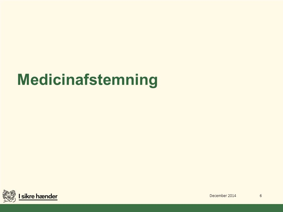 Medicinafstemning December 2014 6