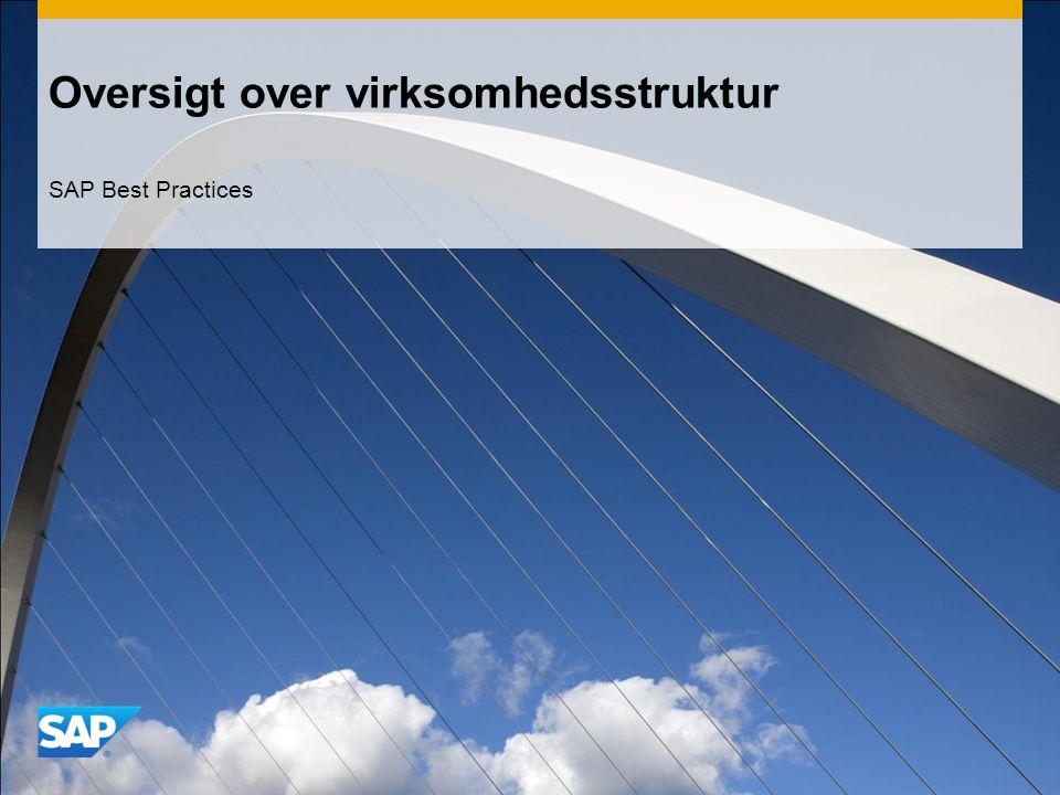 Oversigt over virksomhedsstruktur