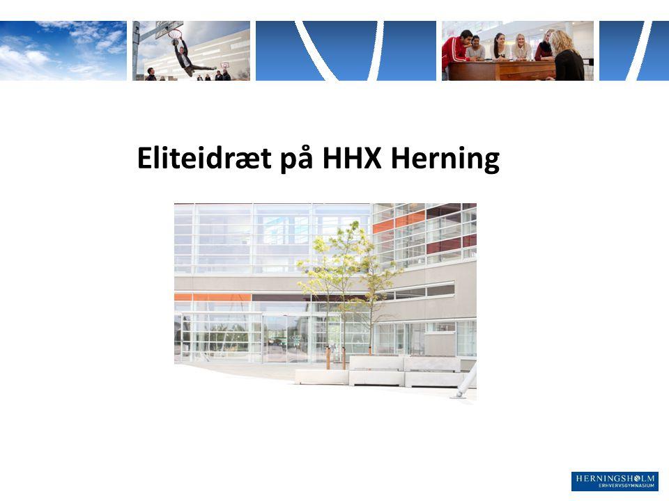 Eliteidræt på HHX Herning
