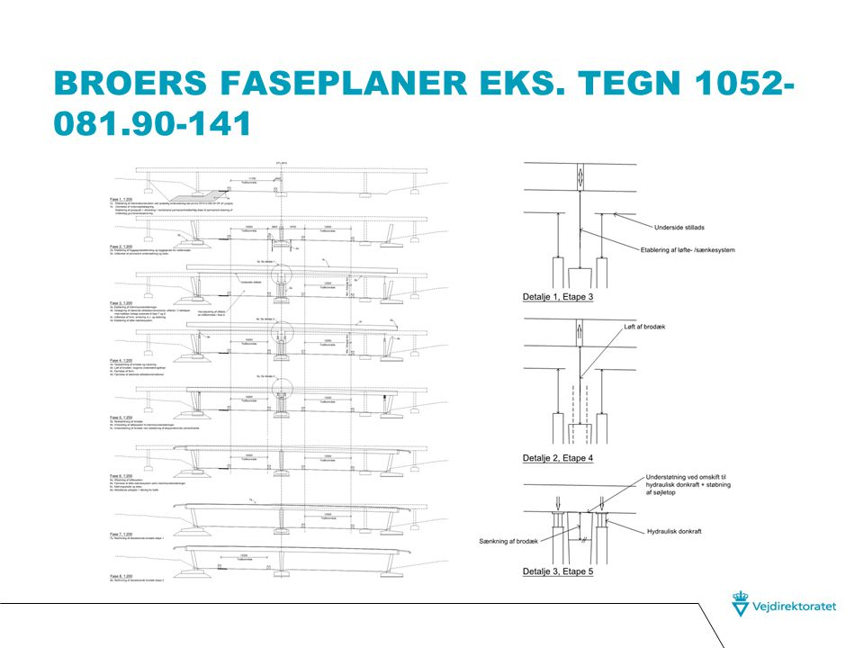 Broers faseplaner eks. Tegn 1052-081.90-141
