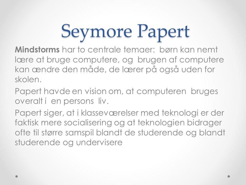 Seymore Papert