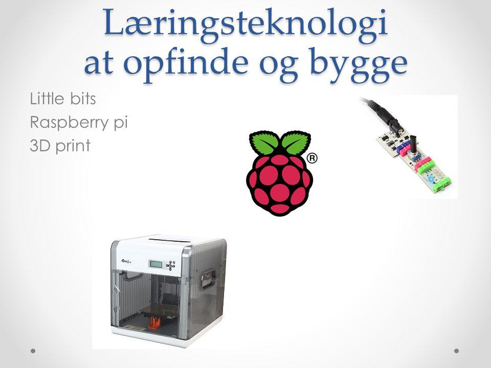Læringsteknologi at opfinde og bygge