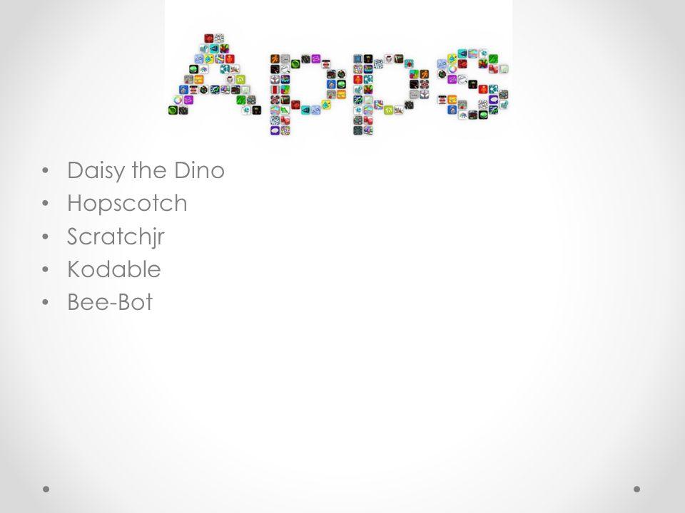 Daisy the Dino Hopscotch Scratchjr Kodable Bee-Bot