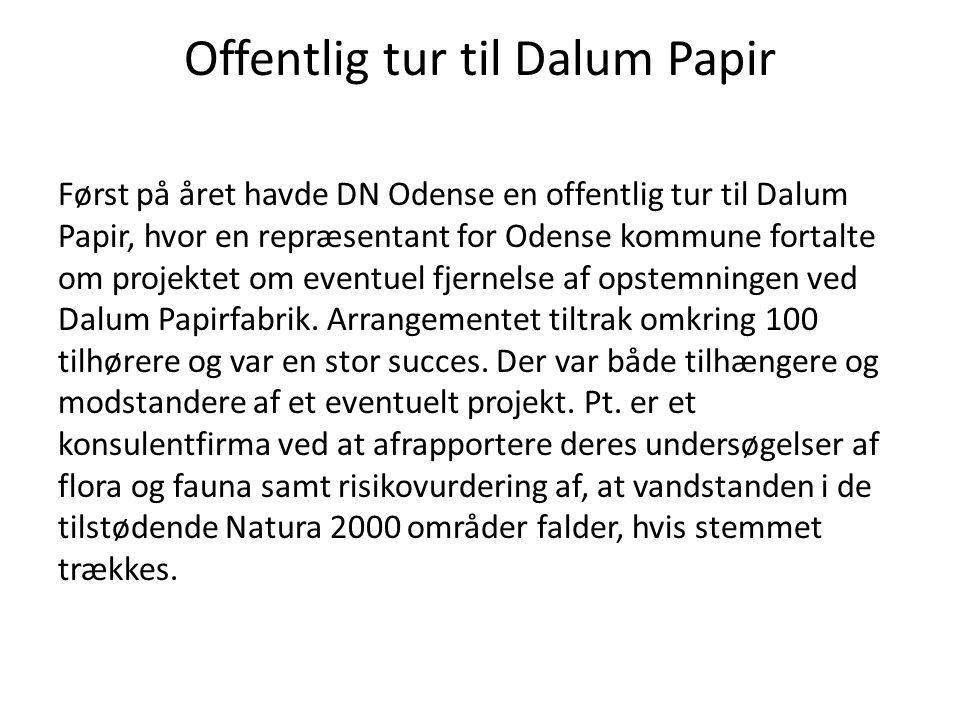 Offentlig tur til Dalum Papir