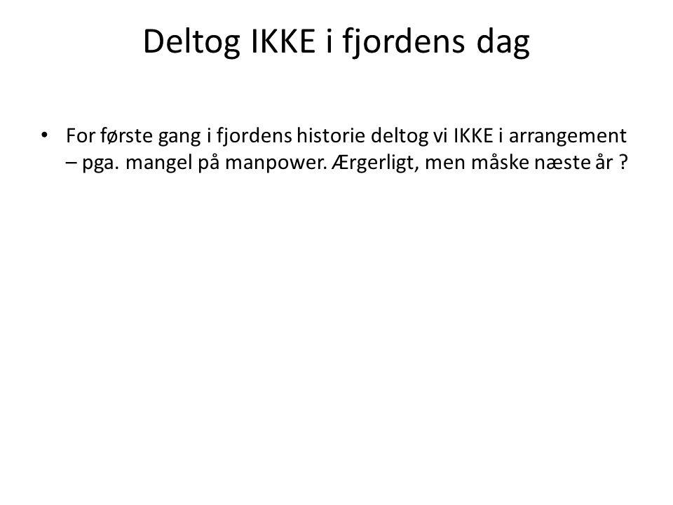 Deltog IKKE i fjordens dag