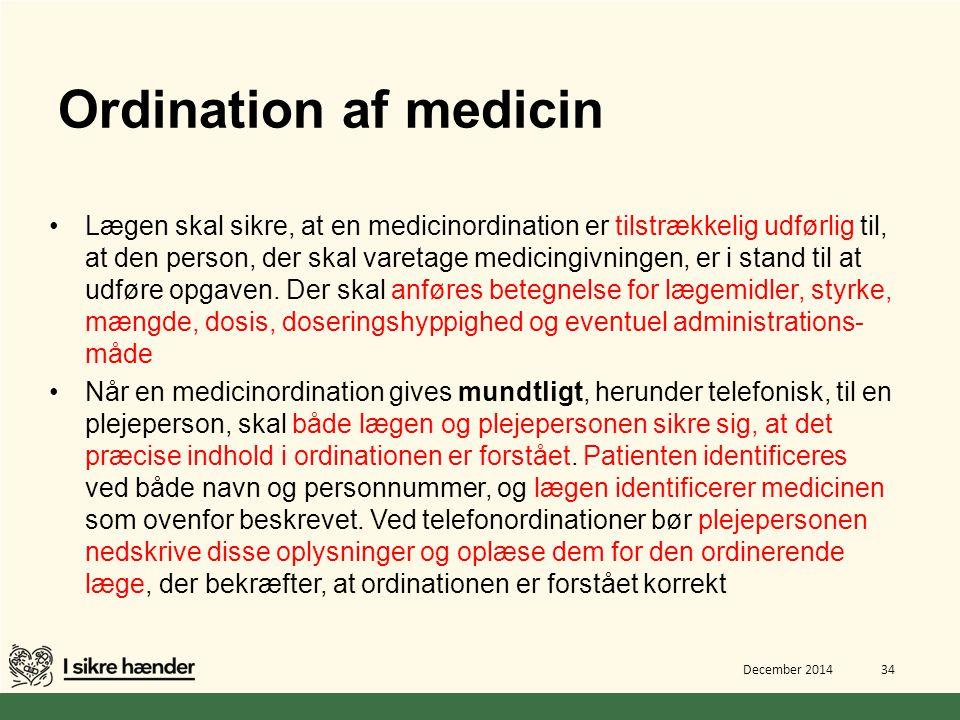 Ordination af medicin