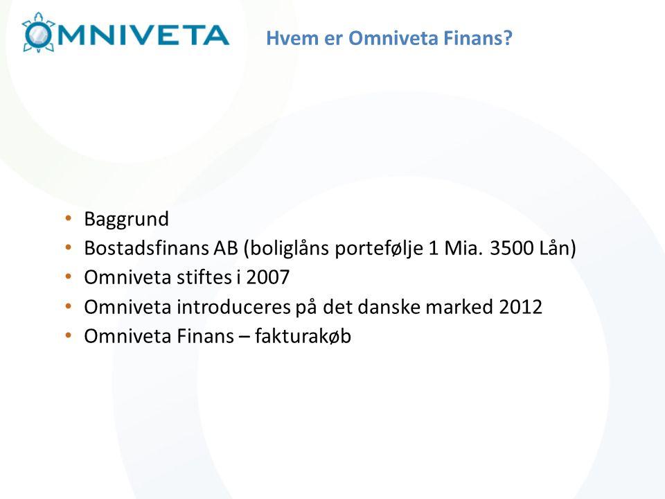 Hvem er Omniveta Finans
