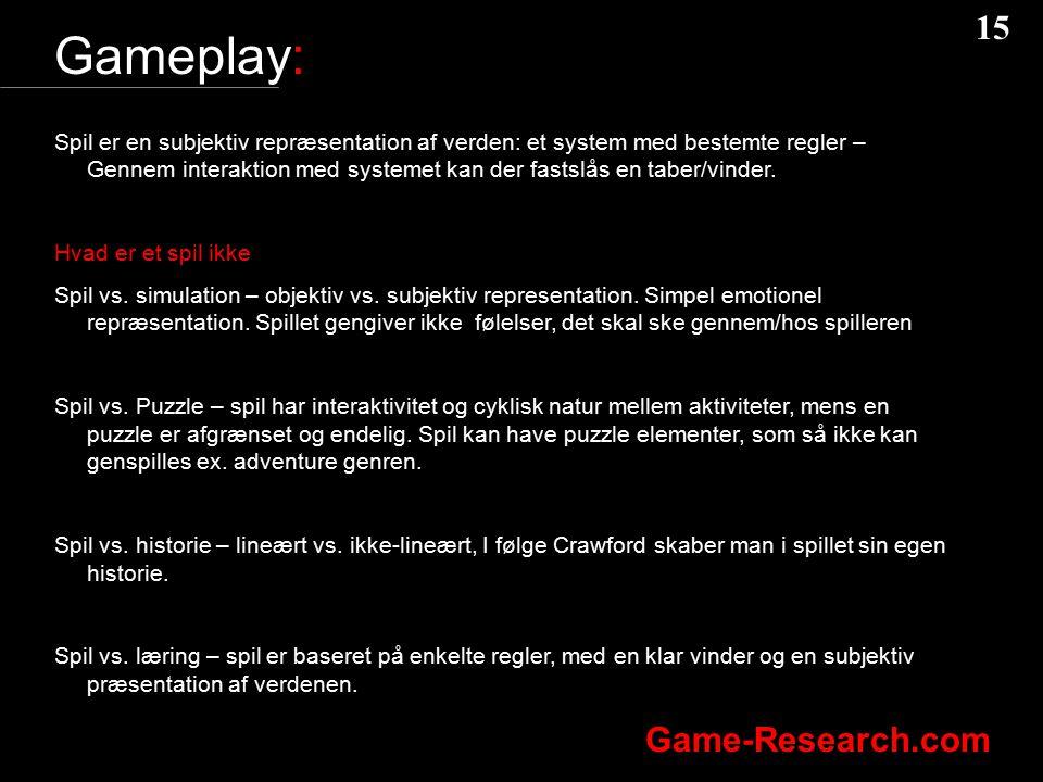 Gameplay: