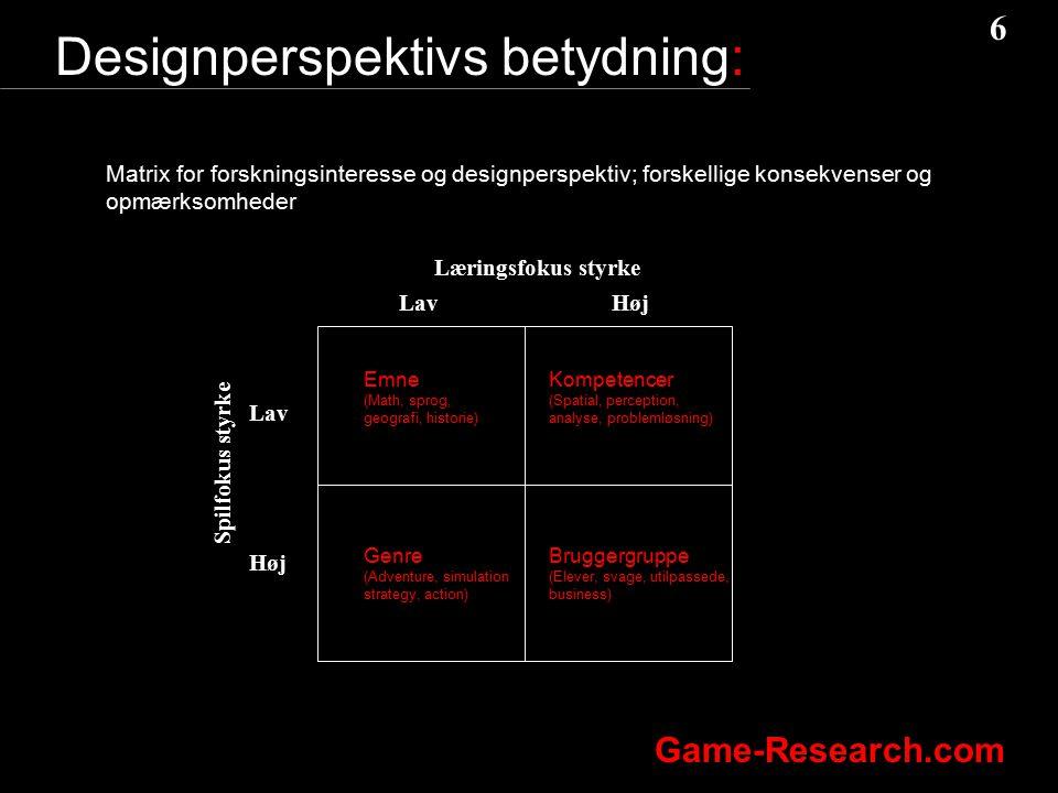 Designperspektivs betydning: