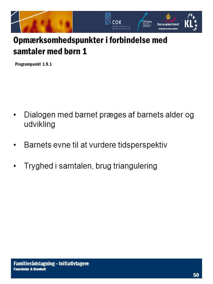 Litteratur til emnet: Uden for nummer. 4. årg. Nr. 6. Børnesamtalen: Karen Asta Bo & Ingrid Gehl.