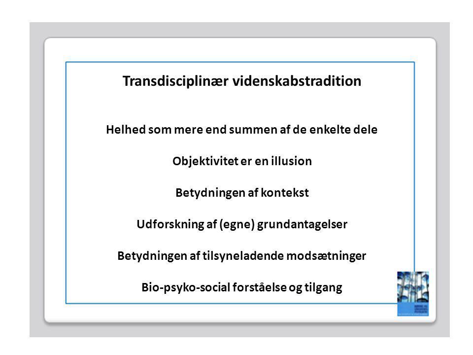 Transdisciplinær videnskabstradition
