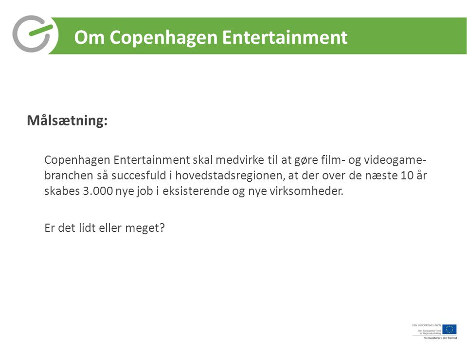 Om Copenhagen Entertainment