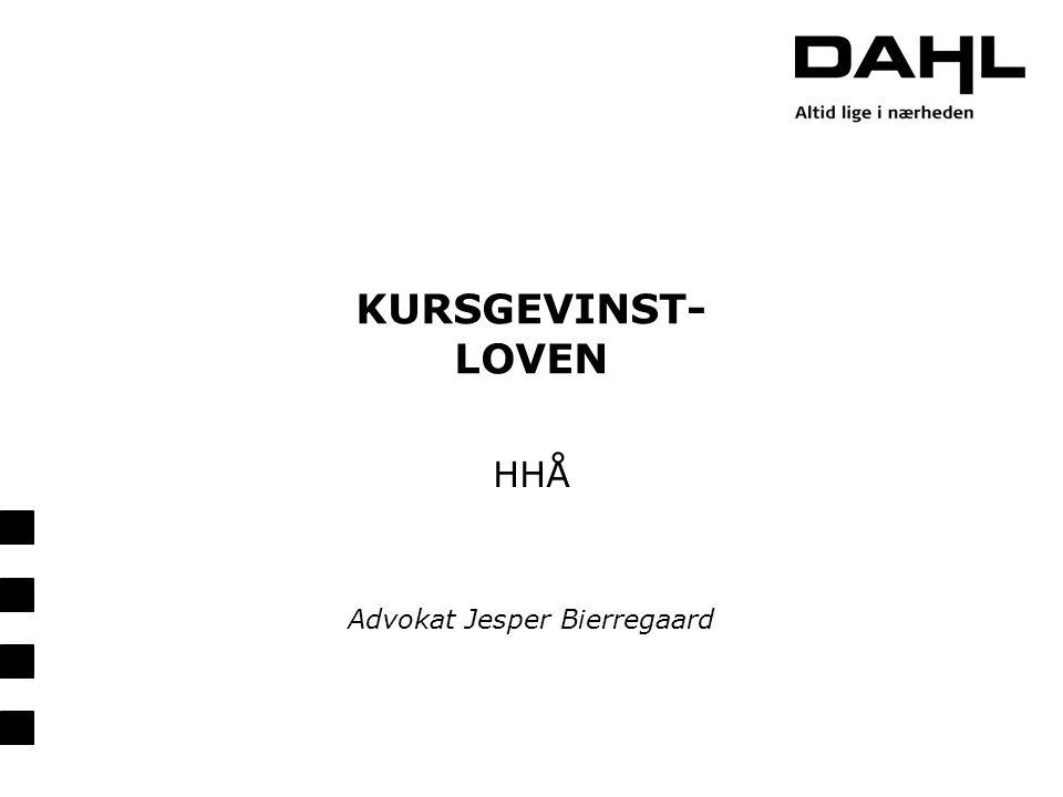 HHÅ Advokat Jesper Bierregaard