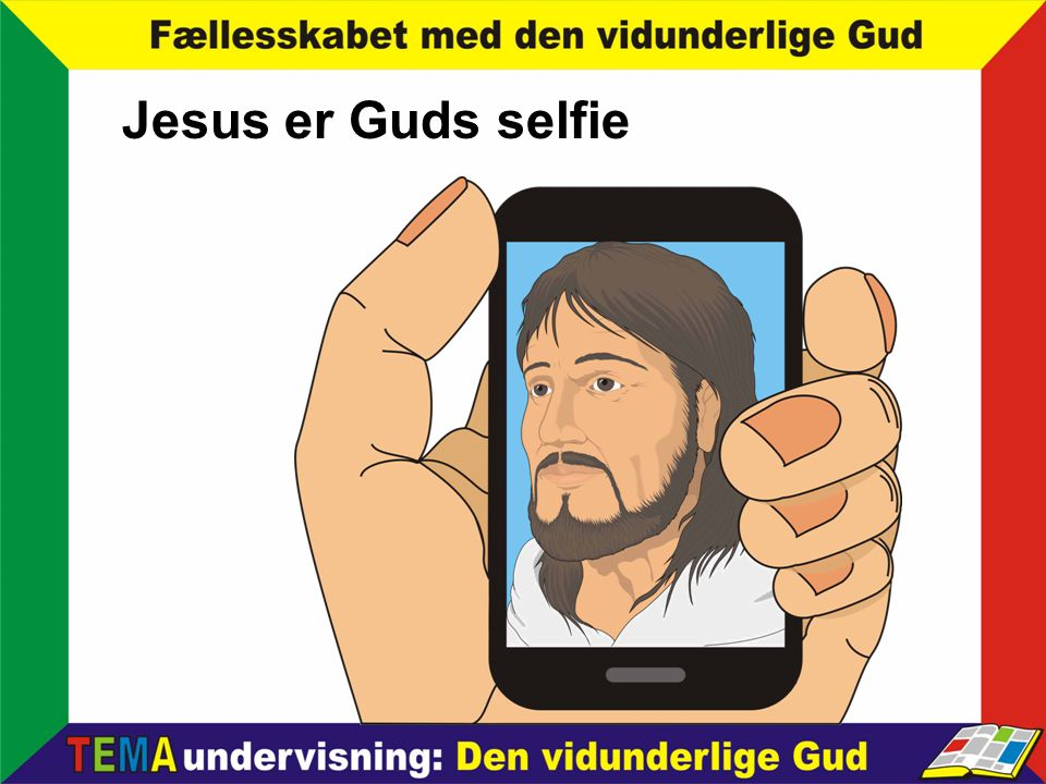 Jesus er Guds selfie