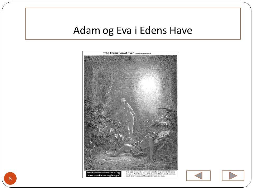 Adam og Eva i Edens Have